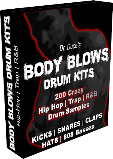 Dr Duce Body Blows Drum Kits